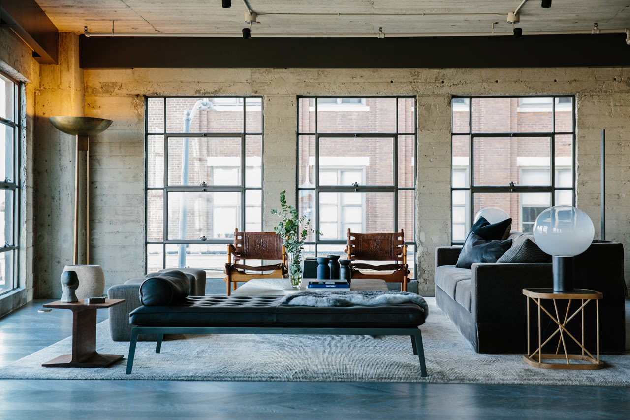 Industrial style warehouse